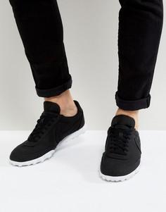 Черные кроссовки Nike Waffle Racer 17 898041-002 - Черный