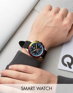 Смарт-часы Fossil Q FTW1124 Crewmaster - Черный