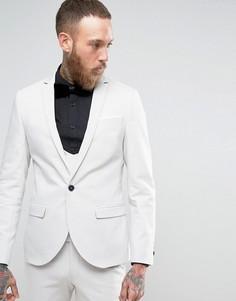 Супероблегающий пиджак с двойным кантом Noose & Monkey - Серый