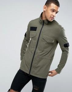Куртка из хлопкового трикотажа Religion - Зеленый