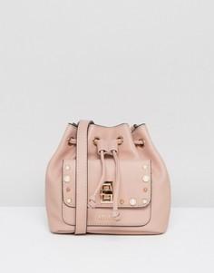 Сумка через плечо со шнурком Carvela Mini - Розовый