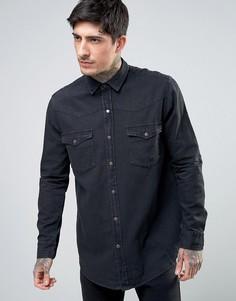 Рубашка Rollas Midnight Rambler - Черный