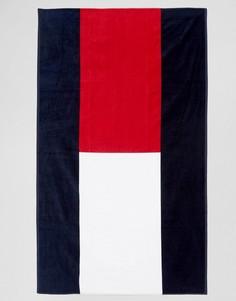 Полотенце с принтом флага Tommy Hilfiger - Темно-синий