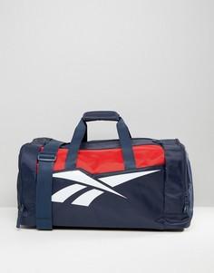 Дорожная сумка (темно-синий/красный) Reebok Classics - Синий