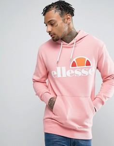 Худи с классическим логотипом Ellesse - Розовый