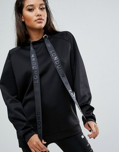 Худи Missguided Londunn - Черный