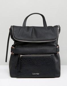 Рюкзак на молнии Calvin Klein - Черный