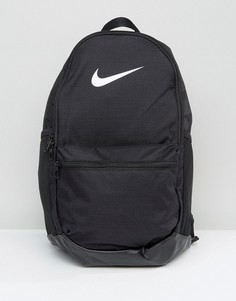 Рюкзак с логотипом Nike Brasilia Just Do It - Черный