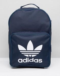 Темно-синий рюкзак с логотипом-трилистником adidas Originals - Синий