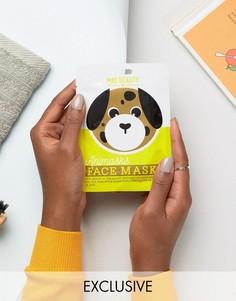 Листовые маски для лица в виде животных - собака - Бесцветный Beauty Extras