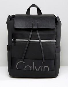 Рюкзак с клапаном Calvin Klein Exclusive Re-Issue - Черный