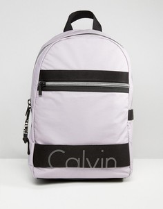 Эксклюзивный трикотажный рюкзак с покрытием Calvin Klein Re-Issue - Фиолетовый