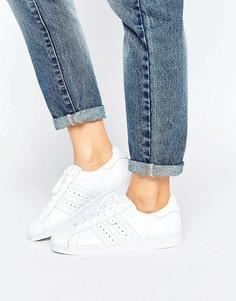 Кроссовки Adidas Superstar 80s Premium - Белый