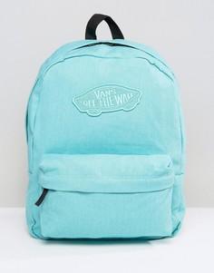 Голубой рюкзак Vans Realm - Синий