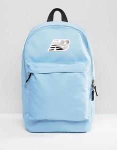 Голубой рюкзак с логотипом New Balance Classic - Синий