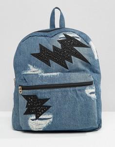 Джинсовый рюкзак Juicy Couture - Синий