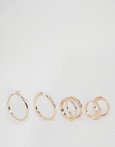 Наборные кольца ALDO Dworelia - Золотой