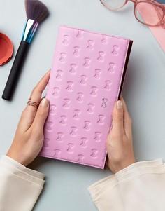 Дорожный бумажник с тисненой отделкой Ted Baker Jadet - Розовый