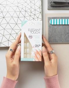 Полуквадратные накладные ногти Elegant Touch Totally Bare - Прозрачный