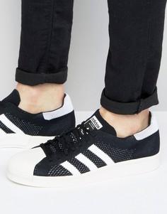 Белые кроссовки из премиум‑трикотажа adidas Originals Superstar Boost BB0191 - Белый