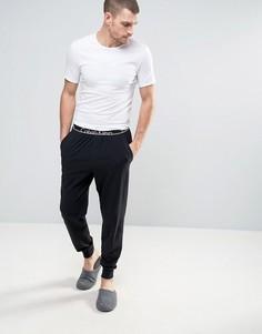 Узкие джоггеры с манжетами Calvin Klein - Черный
