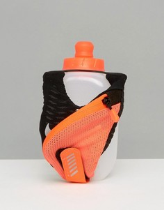 Черная маленькая фляжка объемом 10 унций с короткими ручками Nike RL.88064G - Черный