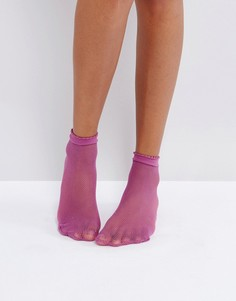 Носки в мелкую сетку Gipsy - Фиолетовый