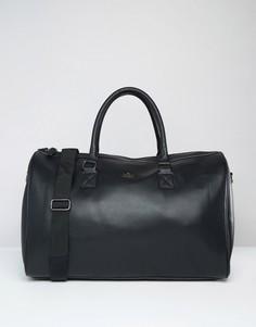 Черная сумка с золотистым тиснением ASOS - Черный
