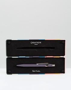 Фиолетовая шариковая ручка Paul Smith & Caran dAche - Мульти