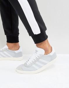 Мужские серые кроссовки adidas Originals Gazelle Prime Knit BB2751 - Серый