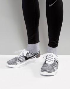 Черные кроссовки Nike Running LunarEpic Flyknit 818676-101 - Черный