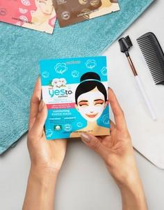 Хлопковая маска‑салфетка для очень чувствительной кожи с успокаивающим эффектом Yes To - Бесцветный