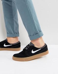 Мужские черные кроссовки Nike SB Zoom Stefan Janoski 333824-021 - Черный