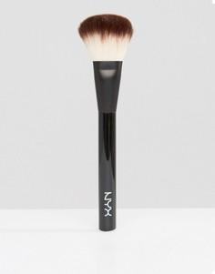 Профессиональная кисть для пудры NYX Professional Make-Up - Бесцветный