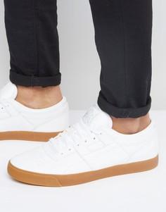 Белые кожаные кроссовки Reebok Workout Gum BD4764 - Белый
