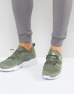 Зеленые мягкие кроссовки Puma Blaze Of Glory 36010110 - Зеленый