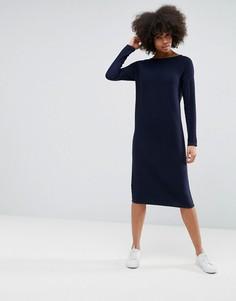 Платье-джемпер ASOS - Темно-синий