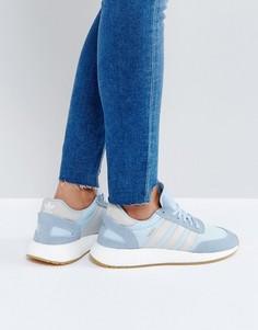 Голубые кроссовки adidas Originals Iniki - Синий