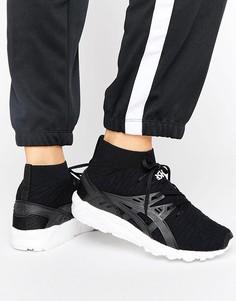 Черные кроссовки Asics Knit Mid Gel-Kayano - Черный