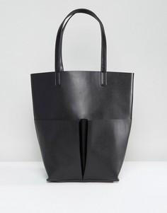 Черная сумка-тоут с карманами Glamorous - Черный