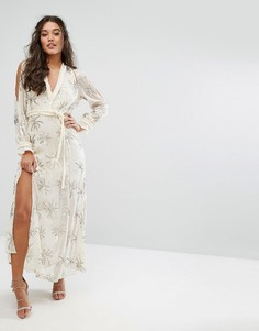 Платье макси Stevie May Dodie - Бежевый