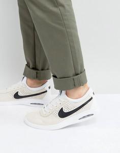 Мужские белые кроссовки Nike SB Bruin Max Vapor 882097-101 - Белый