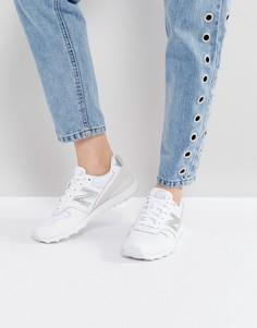 Белые кроссовки New Balance 996 - Белый