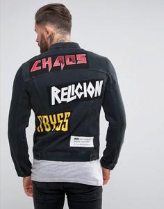 Мужские джинсовые куртки Religion