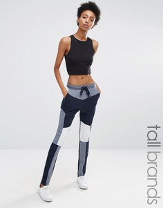 Джоггеры в стиле колор блок Vero Moda Tall - Темно-синий