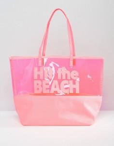 Сумка-тоут South Beach Hit the Beach - Розовый