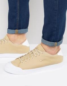 Бежевые кроссовки Nike All Court 898040-200 - Бежевый