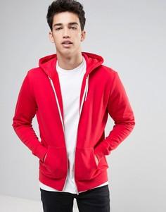 Красный худи на молнии New Look - Красный