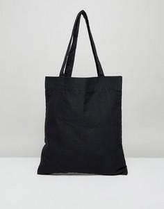 Чернaя сумка-тоут ASOS - Черный