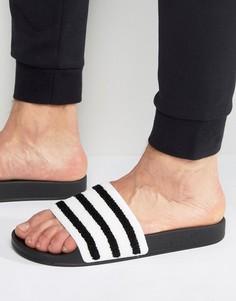Черные шлепанцы adidas Originals Adilette BB0125 - Черный